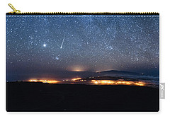 Meteor Over The Big Island Carry-all Pouch