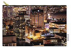 Carry-all Pouch featuring the photograph Metropolis Vancouver Mdccxv  by Amyn Nasser