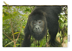 Mexican Black Howler Monkey Belize Carry-all Pouch