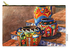 Mexican Pottery Still Life Carry-all Pouch