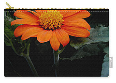 Carry-all Pouch featuring the photograph Mexican Sunflower by James C Thomas