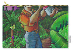 Mi Futuro Y Mi Tierra Carry-all Pouch by Oscar Ortiz