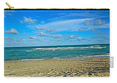Miami Beach Carry-all Pouch by Joan Reese