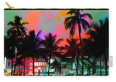 Miami Beach Carry-all Pouch by Marvin Blaine