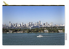Miami Daytime Panorama Carry-all Pouch