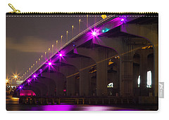Miami Macarthur Causeway Bridge Carry-all Pouch
