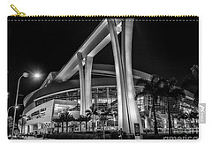 Miami Marlins Park Stadium Carry-all Pouch