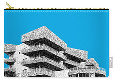 Miami Skyline Art Deco District - Ice Blue Carry-all Pouch