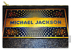 Michael Jackson Apollo Walk Of Fame Carry-all Pouch by Ed Weidman