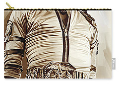 Michael Jackson Artwork 2 Carry-all Pouch by Sheraz A