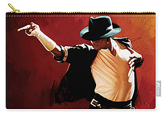 Michael Jackson Artwork 4 Carry-all Pouch by Sheraz A