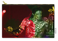 Michael Jackson Painting Carry-all Pouch by Marvin Blaine