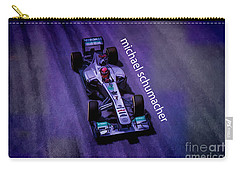 Michael Schumacher Carry-all Pouch by Marvin Spates