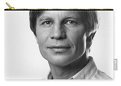 Carry-all Pouch featuring the photograph Michael York by Mark Greenberg