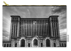 Michigan Central Station Bw Carry-all Pouch