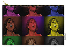 Mick Jagger Pop Art Print Carry-all Pouch