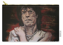 Mick Jagger - Street Fighting Man Carry-all Pouch