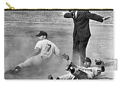 Mickey Mantle Steals Second Carry-all Pouch by Underwood Archives