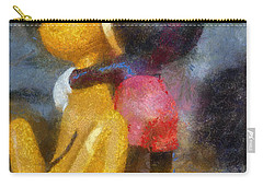 Mickey Mouse Photo Art Carry-all Pouch by Thomas Woolworth