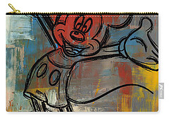 Mickey Mouse Sketchy Hello Carry-all Pouch