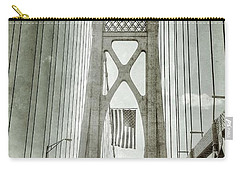Mid Hudson Suspension Bridge Carry-all Pouch