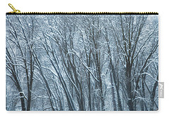 Carry-all Pouch featuring the photograph Mid-winter Storm by Jonathan Nguyen