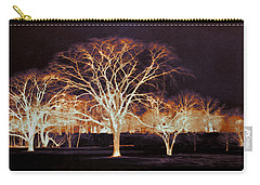 Carry-all Pouch featuring the photograph Midnight Glow by Shawna Rowe