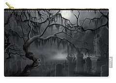 Midnight In The Graveyard  Carry-all Pouch