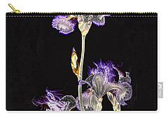 Midnight Iris Carry-all Pouch