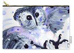 Midnight Owl Carry-all Pouch by Dawn Derman