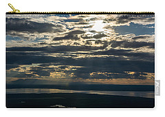 Midnight Sun Over Mount Susitna Carry-all Pouch