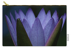 Midnight Water Lily Carry-all Pouch