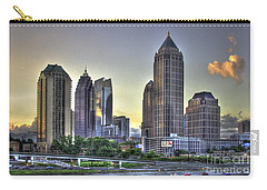 Midtown Atlanta Sunrise Carry-all Pouch