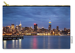 Carry-all Pouch featuring the photograph Midtown Manhattan by Mihai Andritoiu