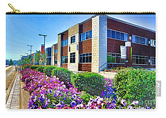 Carry-all Pouch featuring the photograph Geis Midtown Tech Park - Cleveland Ohio by Mark Madere