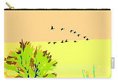 Migration 4 Carry-all Pouch by John Freidenberg