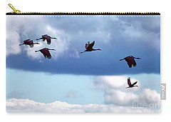 Carry-all Pouch featuring the photograph Migration by Adam Olsen