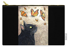 Carry-all Pouch featuring the painting Migration by Angela Davies