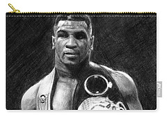 Mike Tyson Pencil Drawing Carry-all Pouch