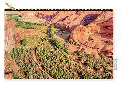 Miles To Go In Canyon De Chelly Carry-all Pouch by Bob and Nadine Johnston