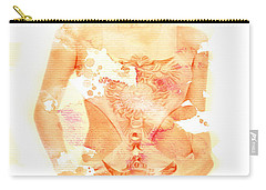 Carry-all Pouch featuring the digital art Miley by Brian Reaves