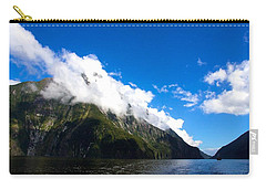 Carry-all Pouch featuring the photograph Milford Sound #2 by Stuart Litoff