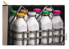 Milk Bottles Carry-all Pouch