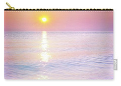 Carry-all Pouch featuring the photograph Milky Sunset by Lilia D