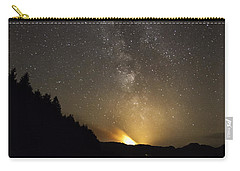 Milky Way At Crafnant 2 Carry-all Pouch by Beverly Cash