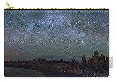 Milky Way At Mono Lake Carry-all Pouch by Cat Connor