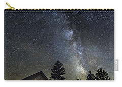 Milky Way Over Foster Covered Bridge Carry-all Pouch by John Vose