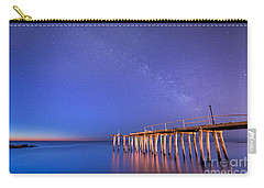 Milky Way Sunrise Carry-all Pouch by Michael Ver Sprill