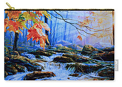 Mill Creek Autumn Sunrise Carry-all Pouch