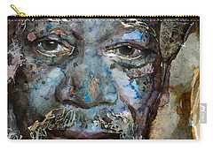 Carry-all Pouch featuring the painting Million Dollar Baby by Laur Iduc
